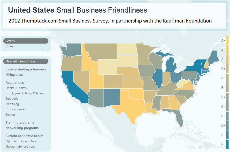 Small businesses rate Idaho and Texas friendliest states ...