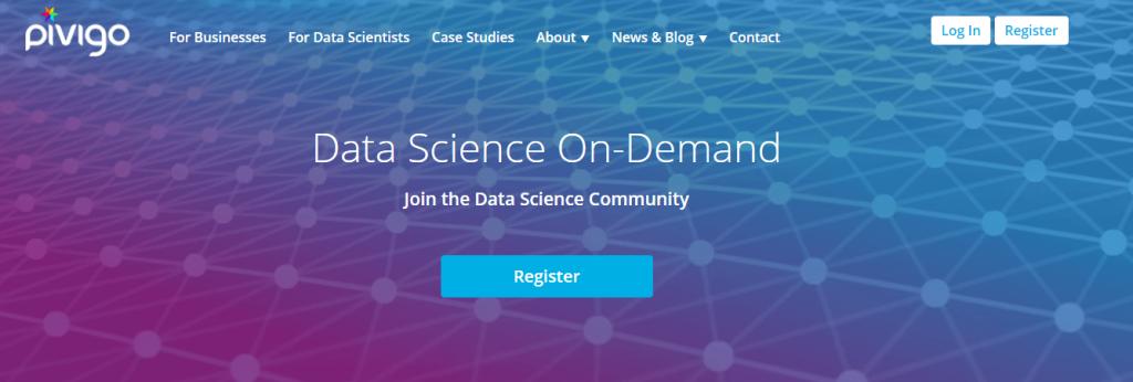 pivigo data science entrepreneur