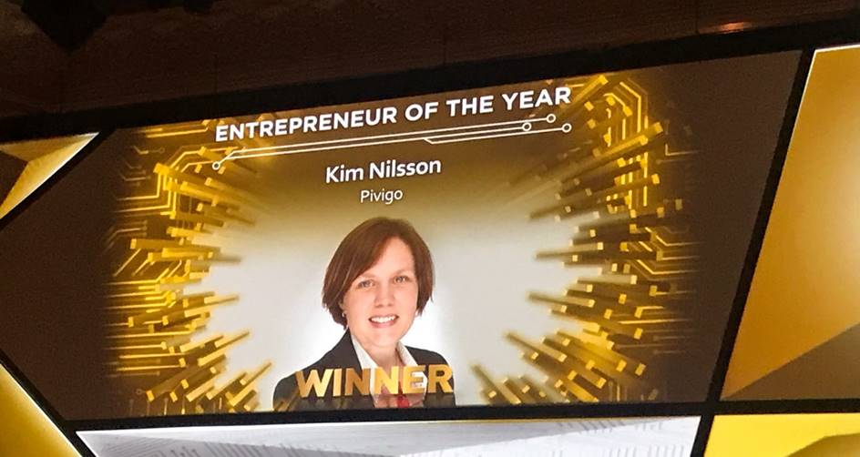 Who was Entrepreneur of the Year 2017?