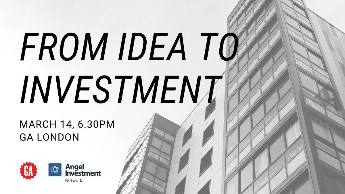 Video: How to go from Idea to Investment