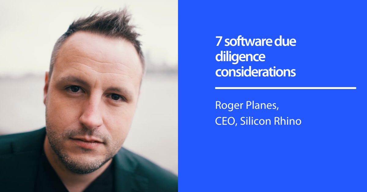 7 software due diligence considerations