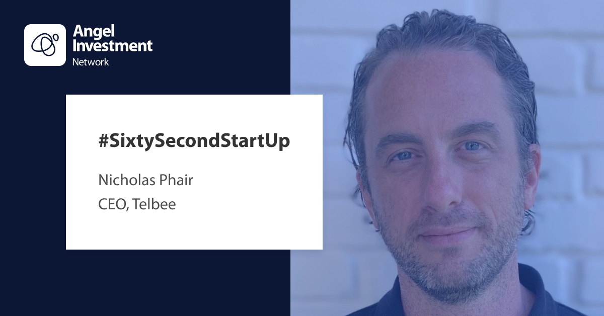 #SixtySecond StartUp with Telbee