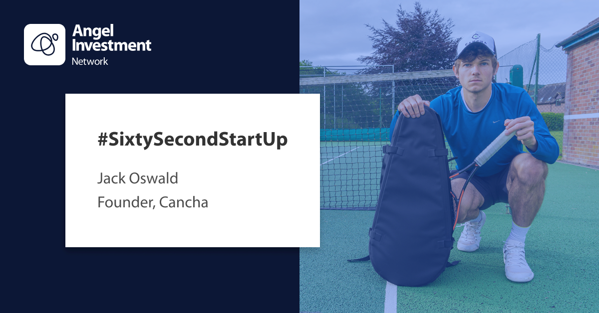 #SixtySecondStartUp with Cancha